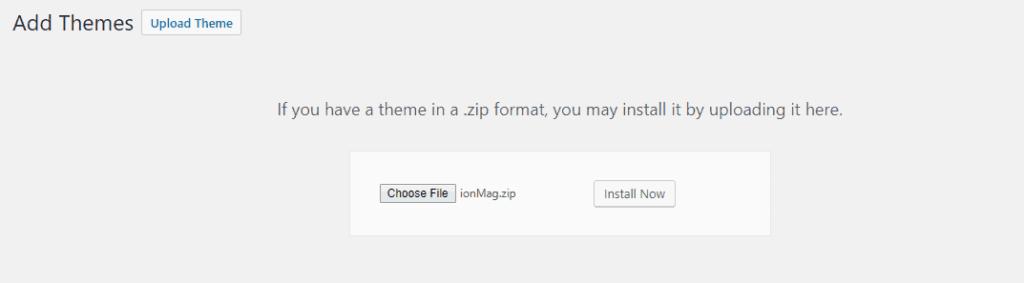install-wp-theme-4